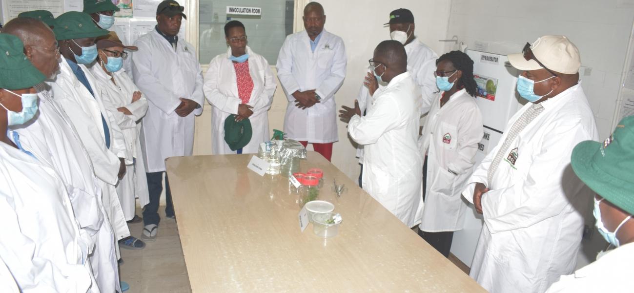 ADC Board of Directors Nakuru Region Tour - Molo Office