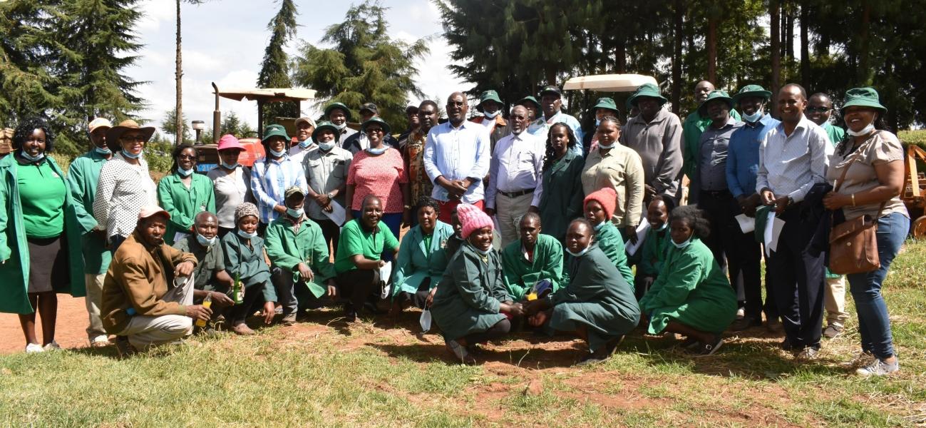 ADC Board of Directors Nakuru Region Tour - Sirikwa Farm