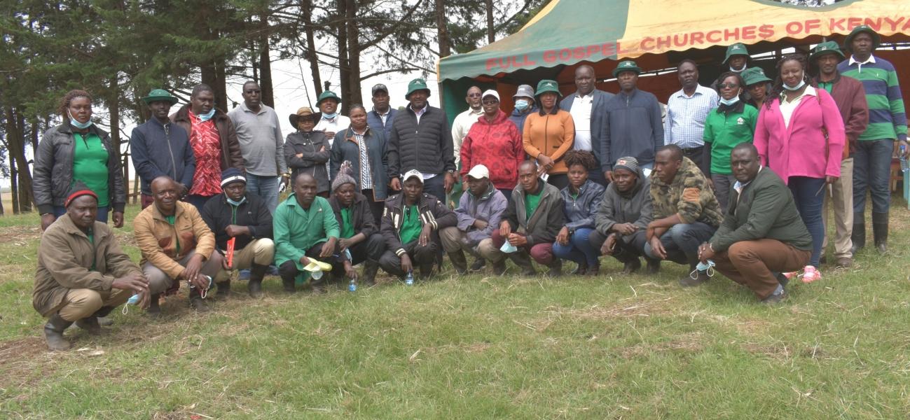 Board of Directors tour Nakuru region - Enchili Unit